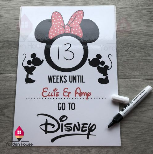 Disney Countdown Print *PERSONALISED*